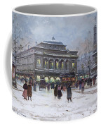 The Place Du Chatelet Paris Coffee Mug