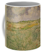 The Plain At Auvers Coffee Mug