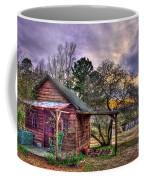 The Play House At Sunset Near Lake Oconee. Coffee Mug by Reid Callaway