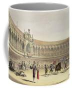 The Plaza Of Seville, 1865 Coffee Mug