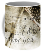 The Pledge Of Allegiance And An Coffee Mug