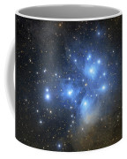 The Pleiades Open Star Cluster Coffee Mug