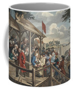 The Polling, Illustration From Hogarth Coffee Mug