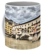 The Ponte Vecchio In Florence Coffee Mug