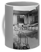 The Pool And Pavilion Of A House Coffee Mug