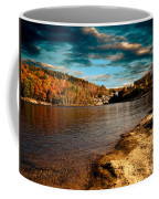 The Pool Below Upper Falls Rumford Maine Coffee Mug by Bob Orsillo