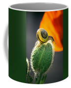The Poppy And The Snail Coffee Mug
