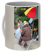 The Portrait In Color Coffee Mug