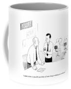 The Possibility Of Carlos Danger Winning Coffee Mug