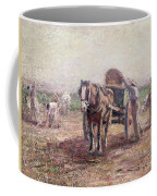 The Potato Pickers Coffee Mug by Harry Fidler