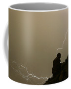 The Praying Monk Lightning Strike Coffee Mug by James BO  Insogna