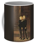 The Princes Edward And Richard Coffee Mug by Sir John Everett Millais