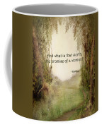 The Princess Bride - Promise Of A Woman Coffee Mug