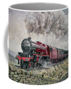 The Princess Elizabeth Storms North In All Weathers Coffee Mug by David Nolan