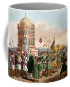 The Procession Of The Taziya, From The Coffee Mug