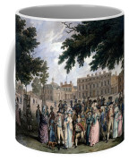 The Promenade In St James Park, C.1796 Coffee Mug