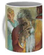 The Prophet Jeremiah Coffee Mug by Michelangelo