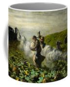 The Pumpkin Harvest Coffee Mug by Giovanni Segantini