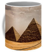The Pyramids Of Giza Coffee Mug
