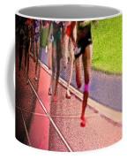 The Race By Jrr Coffee Mug