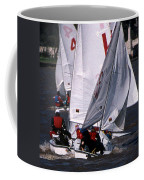 The Race Is On Coffee Mug by Skip Willits