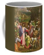 The Raising Of Lazarus, C.1517-19 Oil On Canvas Transferred From Wood Coffee Mug