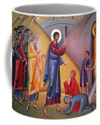 the raising of Lazarus from the dead Coffee Mug