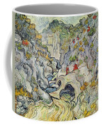The Ravine Of The Peyroulets Coffee Mug by Vincent van Gogh