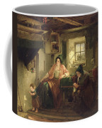 The Ray Of Sunlight, 1857 Oil On Canvas Coffee Mug