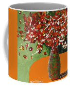 The Red And Green Vase Coffee Mug