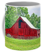 The Red Barn - Featured In Old Buildings And Ruins Group Coffee Mug