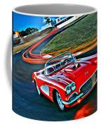 The Red Corvette Coffee Mug