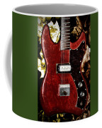 The Red Guitar Blues Coffee Mug by Bill Cannon