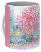 The Red Japanese Maple Tree Coffee Mug