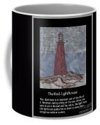 The Red Lighthouse Coffee Mug
