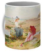 The Red Parasol Coffee Mug by Alfred Glendening Jr