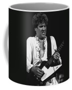 The Red Rocker In Black And White Coffee Mug