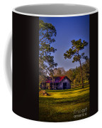 The Red Roof Barn Coffee Mug by Marvin Spates