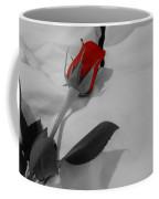 The Red Rose Coffee Mug