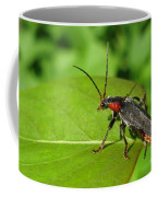 The Rednecked Bug- Close Up Coffee Mug