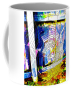 The Refracted Cobweb Coffee Mug