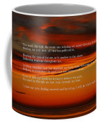 The Renewal Poem Coffee Mug