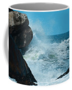 The Restless Sea Digital Art Coffee Mug