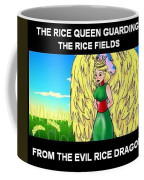 The Rice Queen  And The Corn Queen Cd Demo From The Wheat-shire Collection Coffee Mug