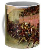 The Riderless Racers At Rome Coffee Mug