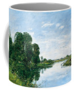 The River Touques At Saint-arnoult Coffee Mug