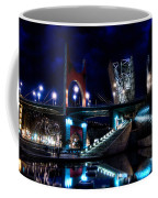 The Riverside Pool Of The Guggenheim Museum In Bilbao Spain Coffee Mug