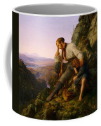 The Robber And His Child Coffee Mug