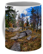 The Rocks Above Eagle Bay IIi Coffee Mug