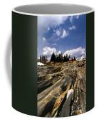 The Rocks At Pemaquid Coffee Mug